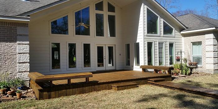 Wood Decks Shade Arbors Kingwood Atascocita North Houston