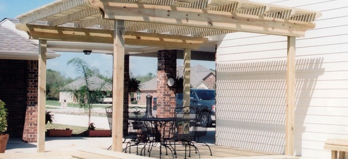 Shade Arbors, Patio Covers, And Pergolas Have Many Uses In Your Yard: