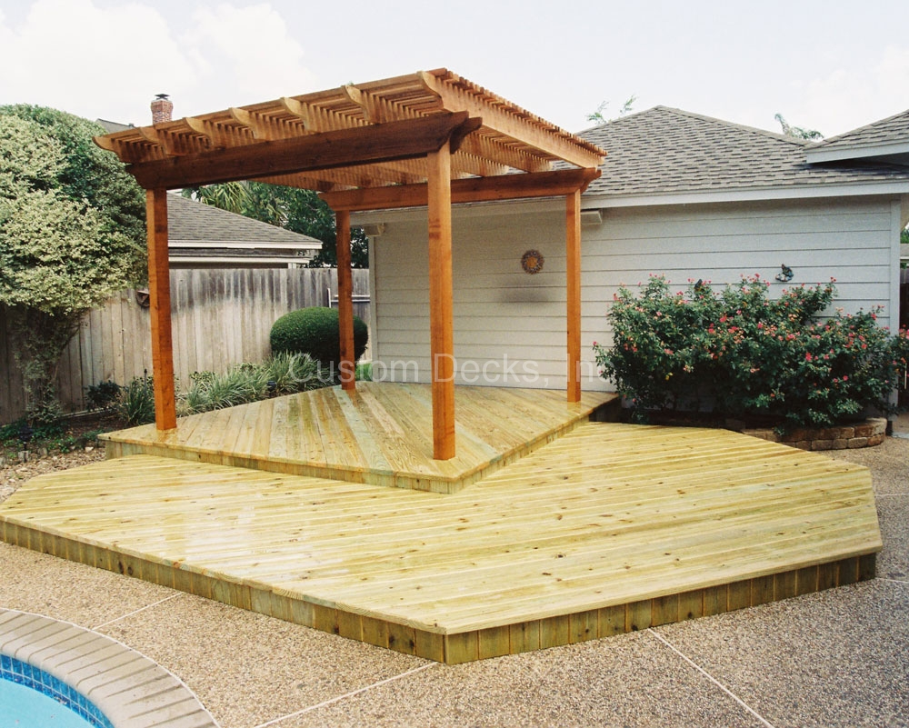 Shade arbors and pergolas in kingwood greater houston areas for Shade arbor designs